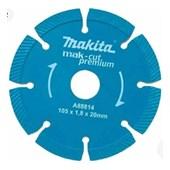 Disco Makita A88814 diamantado segmentado ondulado (refrigeração a seco)