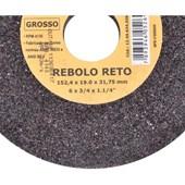 Rebolo Reto 6 X 3/4 X 1.1/4 Grosso Vonder
